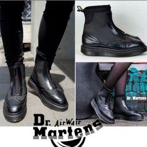 NWOT Doc Marten Zip Up Boots